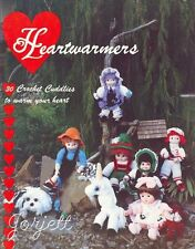Heartwarmers, 30 dolls and toys crochet patterns OOP