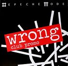 DEPECHE MODE * WRONG * UK 9 TRK CLUB PROMO * HTF! * SOUNDS OF THE UNIVERSE
