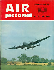 "AIR PICTORIAL British Magazine November 1972 R.A.F. ""Lanc"""