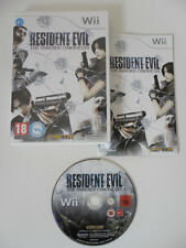 RESIDENT EVIL THE DARKSIDE CHRONICLES - NINTENDO WII - COMPLET