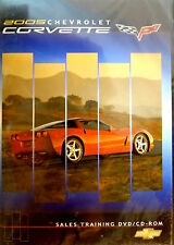 2005 Corvette Sales Training DVD CD Manual Promotional 05 Advertising Owners