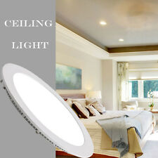 3W 240V Round LED Recessed Ceiling Panel Down Light Bulb Cool White Lamp