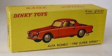 Repro Box Dinky Nr.24J Alfa Romeo 1900 Super Sprint