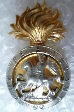 Badge- Vintage Royal Northumberland Fusiliers Cap Badge with Slider
