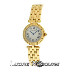 Lady's Cartier Panthere 8057921 Vendome Cougar 18K Gold 23mm Quartz Watch