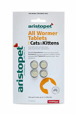 Aristopet All Wormer for Cats&Kittens 4pk - Cat Worming Tablets - Aus Made