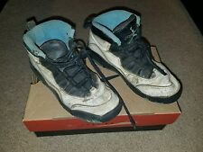 Vtg 1994 Nike Air Jordan 10 X OG WHITE BLACK CAROLINA BLUE  US SZ 3y