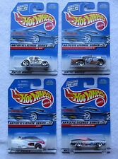1998 MATTEL HOT WHEELS, ARTISTIC LICENSE SERIES, COMPLETE SET OF 4 CARS, NEW(6,2