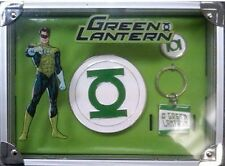 Adult DC Comics Movie Superhero The Green Lantern Gift Box Buckle Ring Keychain