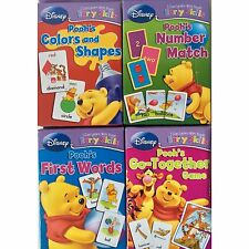 Disney Winnie the Pooh's Early Learning Cards Numbers Colors Shapes Fast Ship!