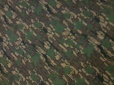 "Vintage Camo Fabric, Trebark II, 7 oz. Poly/Cotton, 61"" x 3 yds, Made in USA"