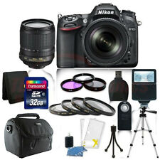 Nikon D7100 Digital SLR Camera Body +18-105mm DX VR Lens + 32GB  Accessory Kit