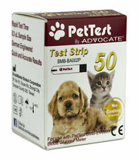 Advocate PetTest Test Strips 50 CT - Monitoring Glucose Levels - Diabetes Tools