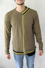 pull marron mérinos extra fine M+F GIRBAUD taille XXL NEUF/ÉTIQUETTE val 290€