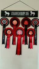 GIANT PERSONALISED Rosette Display Holder 100 + Rosettes 30 X 50 INCHES