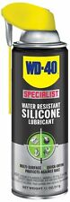WD-40 300014 Specialist Water Resistant Silicone Lubricant Spray, 11 oz. 2 Pack