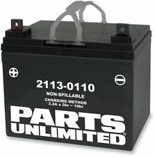 Parts Unlimited - CTX14AHL-BS - AGM Maintenance-Free Battery, YTX14AHL-BS