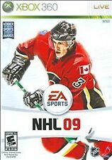 NHL 09 (Microsoft Xbox 360, 2008) Xbox 360 Complete Very Good