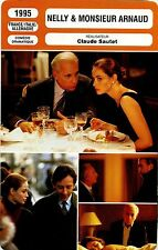 Movie Card. Fiche Cinéma. Nelly & monsieur Arnaud (France...) Claude Sautet 1995