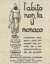 W6409 Essenza di colonia Schultz - Pubblicità 1929 - Advertising