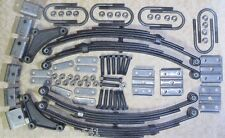 9,600 # axle suspension kit. Incl. (4) 2400 lb springs and u-bolt kit ( trailer