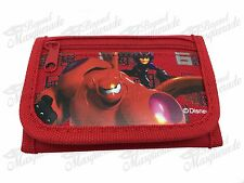 Disney Big Hero 6 Teen Boys Tri-Fold Wallet - Red