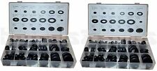 (2) 125pc Rubber Grommet Assorted Firewall Hole Plug Set Electrical Wire Gasket