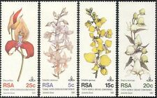 South Africa/RSA 1981 Orchids/Plants/Flowers/Nature/Orchid 4v set (n43284)