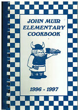 *PARMA OH 1997 JOHN MUIR ELEMENTARY SCHOOL COOK BOOK *PARENTS STUDENTS & FRIENDS
