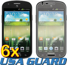 6x Samsung Galaxy Express SGH-i437 Clear LCD Screen Protector Guard Cover Film