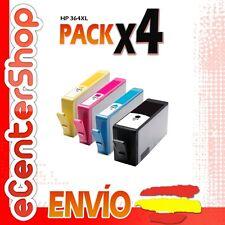 4 Cartuchos de Tinta NON-OEM HP 364XL - Photosmart Premium B210 b