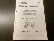 Yamaha FZR 500 600 FZR500 FZR600 1990 Assembly Manual Montageanleitung