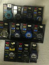 Vintage mix lot of 11 NEW men's watch Voit Glo Maxx shock water resist plus+