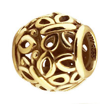 Authentic Pandora Butterfly Openwork Charm 24K Heavy Gold Plated 790895 Genuine