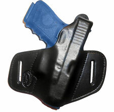 ON DUTY Gun Holster Ruger SR22 Thumb Break RH OWB Black Leather