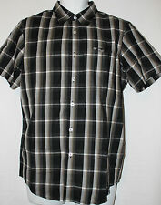 Authentic Oakley Mens Ranger Woven Checkered Shirt Top Small BNWT