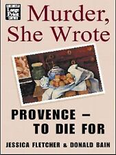 Murder She Wrote Provence to Die for