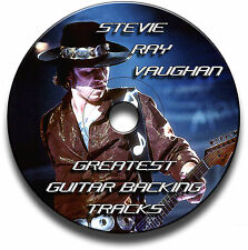 32 x STEVIE RAY VAUGHAN SRV STYLE MP3 BLUES ROCK GITARRE PLAYBACK JAM TITEL CD