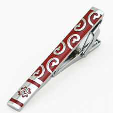 LJ-006 Stainless Steel Silver Toned Tie Clasp Clip Bar + Gift Box FREE SHIPPING