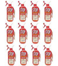 12pz STOP Multi-Insetto INSETTICIDA NO GAS per Cimici Acari Mosche Zanzare 375ml