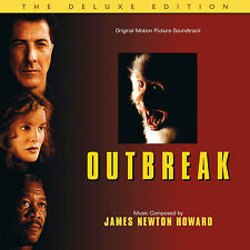 Outbreak - 2 x CD Complete Score - Limited 3000 - James Newton Howard
