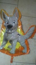 "DISNEY BOLT 34"" FOIL HELIUM BALLOON SUPER SHAPED NEW SEALED"