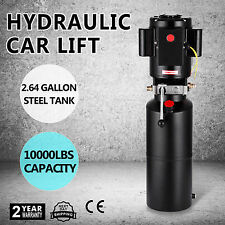 12VDC 60HZ CAR LIFT HYDRAULIC POWER PACK VEHICLE HOIST MANUAL HYDRAULIC PUMP