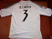 2005 Roberto Carlos Real Madrid 2006 Camiseta De Fútbol Adultos XL Camiseta