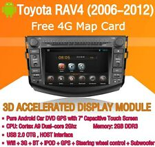 Android Car DVD GPS WIFI 3G for Toyota RAV4 2006 2007 2008 2009 2010 2011 2012