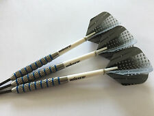 29g Blue Ring PRECISION Darts Set,Unicorn Stems,Target Precision Silver Flights