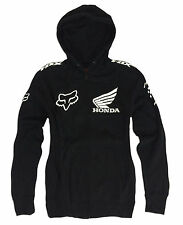 New FOX RACING Mens HONDA Hoody Size XL Motocross Hoodie Zip Jacket X-Large