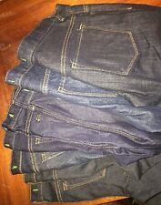Wholesale lot of 8 J Brand  dark blue some skinny jeans sample SZ 25-28 New