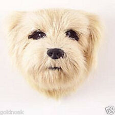 (1) NORFOLK TERRIER DOG MAGNET! Very realistic collectible fur refrig. Magnets.