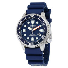 NEW WOMEN'S CITIZEN ECO DRIVE DEEP BLUE SEA 200M PRO-DIVERS WATCH EP6051-14L